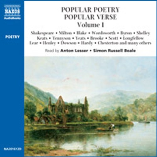 Popular Poetry, Popular Verse audiobook cover art