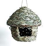 LUwen Nido Dell'Uccello di Paglia, Paglia Fatta Mano Creativo Nido Uccello Domestico Uccel...