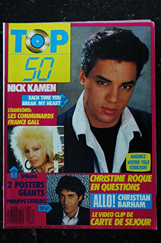 TOP 50 064 1987 05 FRANCE GALL NICK HAMEN + POSTERS PHILIPPE CATALDO SPAGNA ROQUE