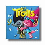 Orangestudio Trolls 11.8'' Handmade Wall Clock - Get Unique décor for Home or Office – Best Gift Ideas for Kids, Friends, Parents and Your Soul Mates