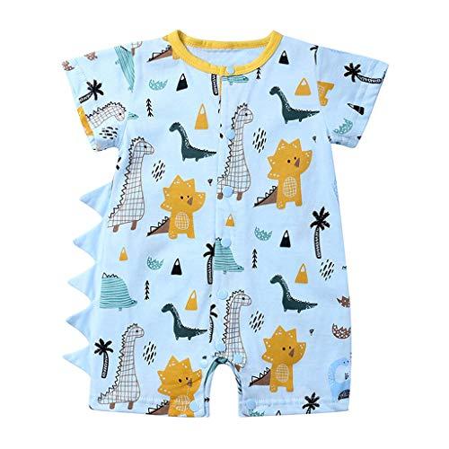 Mädchen Kleider Festlich, Weant Baby Kleidung Mädchen 0-24 Monate Dinosaurier Drucken Outfits Sets Kleider FüR Kinder Mädchen Kleidung Partykleid Chiffon Kleid Baby Tägliche Kleidung Pullover