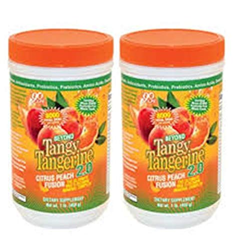 Beyond Tangy Tangerine 2.0, Citrus Peach Fusion,(Twin Pak) by Youngevity