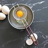 Egg Separator Egg Yolk White Separator,Stainless Steel Yolk Separator,Gravy Separator,Kitchen Gadgets And Tools
