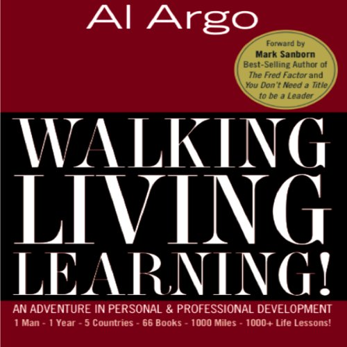 Walking, Living, Learning! audiobook cover art