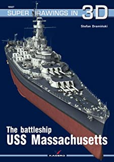 The Battleship USS Massachusetts (Super Drawings in 3D)