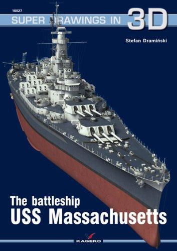 BATTLESHIP USS MASSACHUSETTS (Super Drawings in 3D)