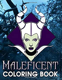 Maleficent Coloring Book: Maleficent Anxiety Coloring Books For Adults, Teenagers - Relaxation