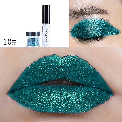 Fix Glue Gel avec Poussière Glitter pour Lèvres Fard à Paupières Corps Visage Losse Glitter Sparkling par UmayBeauty