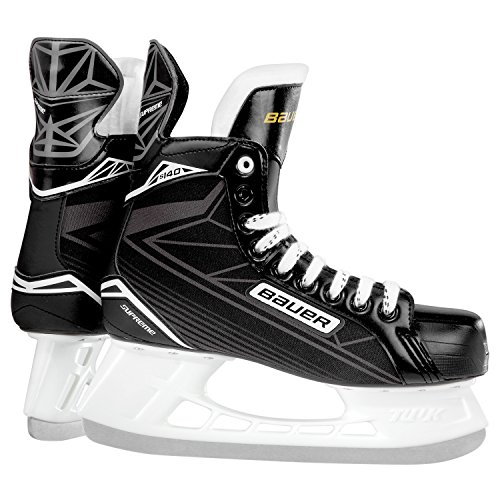 Bauer Supreme S 140 Youth BTH16 Hockey Skate, Black, Size 9