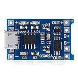 CAIJINJIN Módulo 10PCS Micro USB de 5V 1A 18650 batería de Litio Cargador TP4056 módulo de Carga Funciones Consejo con la Doble protección 1A Li-Ion