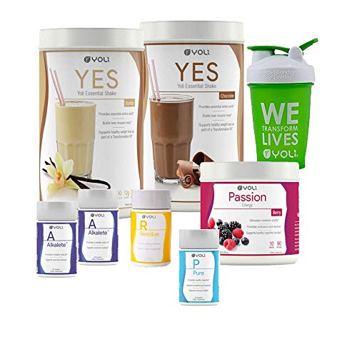Yoli Transformation Kit - Yes, Passion, Alkalete, Pure, Resolve