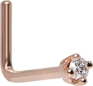 gold diamond body jewelry