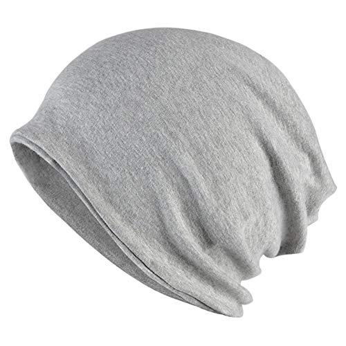 Goddness Bar Bonnet de Sommeil élégant Beanie Hat Scarf Casquette Polyvalente pour Le Plein air, Le Cyclisme, Les Cheveux crépus (A31)