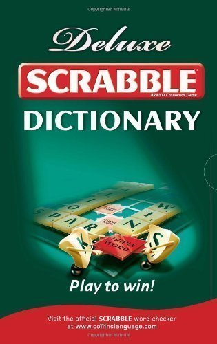 Collins Scrabble Dictionary: Deluxe edition [01 October 2009]