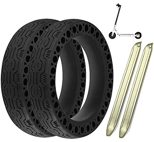 Lymbit x2 Neumático sólido Antideslizante reemplazo para Ruedas macizas Llanta De Patinete...