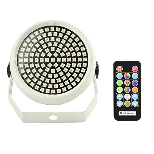 Lixada 91 LED DMX Strobe Mixte Clignotant Scène Scène Atmosphère Activé Sonore Activé Disco Lampe RGB DJ Bar Fête De Noël Lumière avec Télécommande