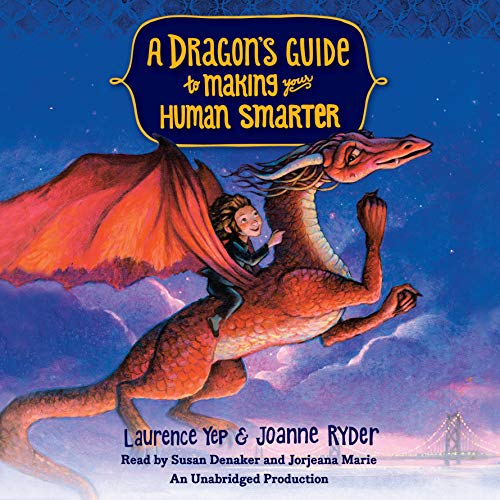 A Dragon's Guide to Making Your Human Smarter audiobook cover art