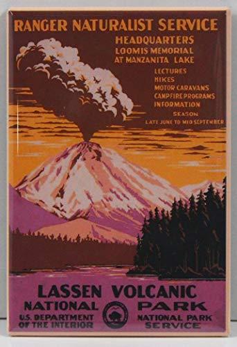 Lassen National Park Refrigerator Magnet.