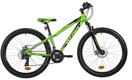 ATALA Mountain Bike Race PRO, 27.5' MD, Misura Unica 33 (140-165cm), Colore Verde Neon - Antracite