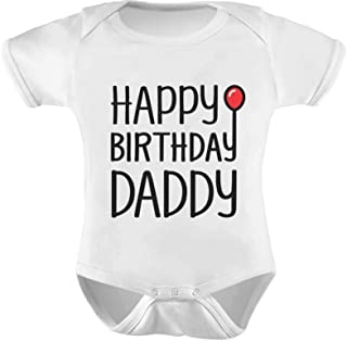 happy birthday daddy shirt for baby