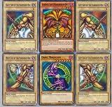 Yugioh!! Exodia and Dark Magician 50 Card Lot with RARES Guaranteed.