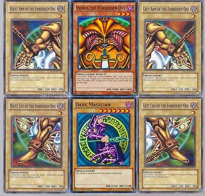 MISKD Yugioh!! Exodia and Dark Magician 30 Card Lot with RARES Guaranteed.