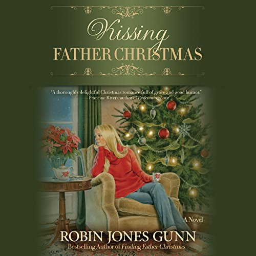 Kissing Father Christmas audiobook cover art