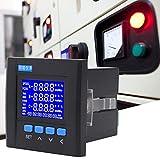 Medidor de energía digital de voltaje trifásico para evaluación de gestión para automatización de subestaciones