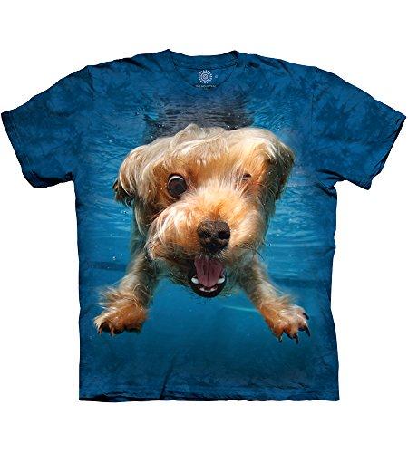 The Mountain Unisex-Erwachsene Uwd Brady Adult Tee T-Shirt, blau, Large