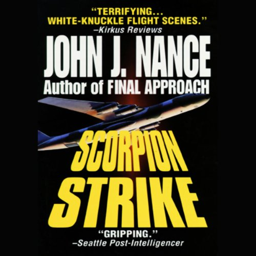 Scorpion Strike audiobook cover art