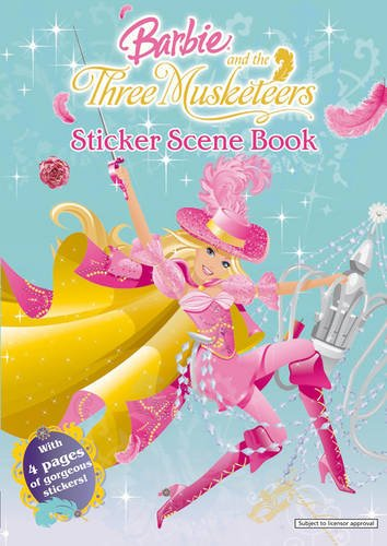 Barbie and the Three Musketeers: Sticker Scene Book