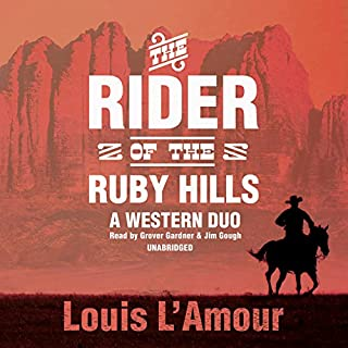The Rider of the Ruby Hills cover art