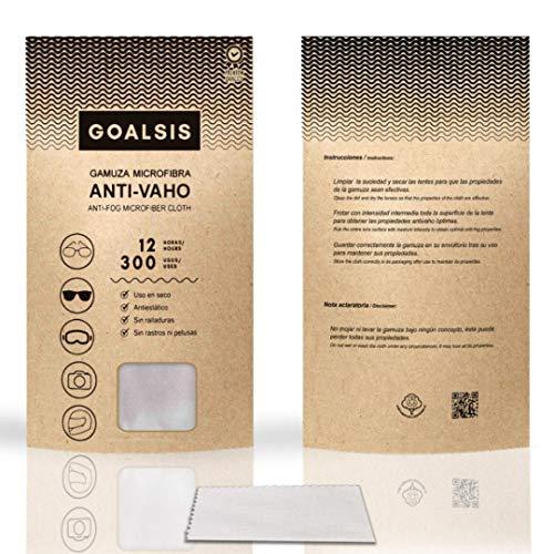 Goalsis - Gamuzas Microfibra Antivaho | Premium | Sin necesidad de liquidos adicionales | Toallita de uso en seco, para GAFAS y lentes | Libre de P.F.O.A.