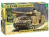 ZVEZDA 500783620 - Maqueta de Tanque IV (Escala 1:35, versión H 161/2), construcción de maquetas, construcción de maquetas, construcción de Modelos, Hobby, Manualidades, Juego de plástico