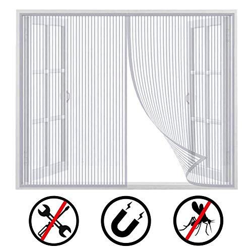 Mosquitera Fibra de Vidrio con Recubierto de PVC CZNDY 3pcs Mosquiteras para Ventanas,mosquitera Standard para ventanas,Adi/ós a los Onsectos,de insectos de la protecci/ón de la ventana se puede cortar