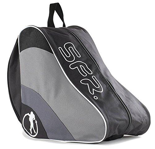 Sfr Skates Ice & Skate Bag II, Unisex-Erwachsene Stofftasche, Schwarz (Black), 24x15x45 cm (W x H L)