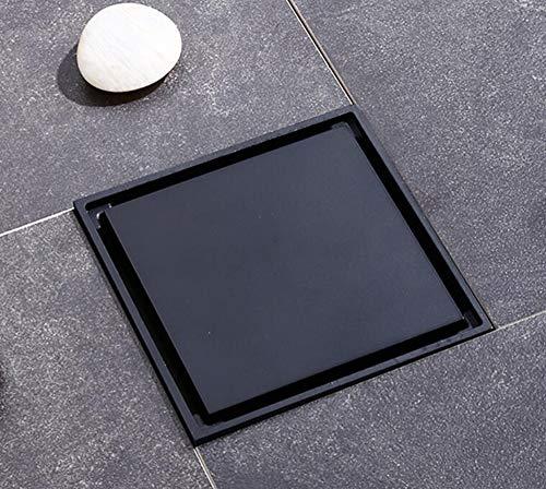 Rmbearmoni afvoerset met zwarte bodem van koper, luchtverfrisser voor badkamer, toilet, wasmachine, afvoerreiniger