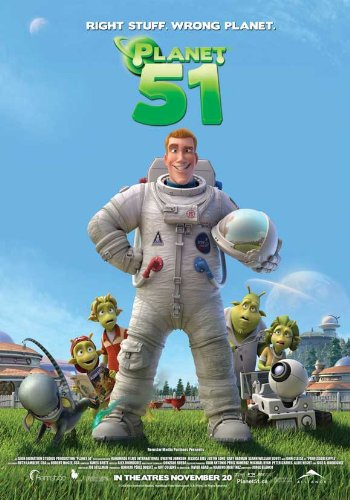 Planet 51 11 x 17 Movie Poster