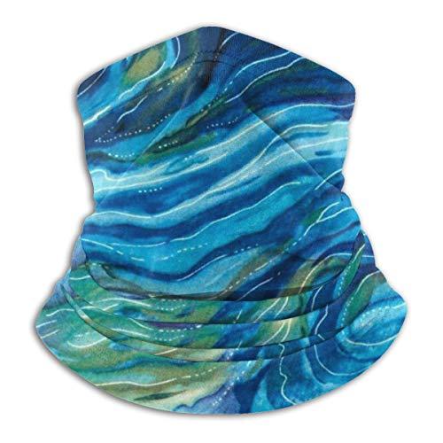 nonebrand Noord-Amerikaanse Wildlife Abstract Ocean Unisex Warmer Neck Oorband Hoofdband & Gezicht Sjaal Koud Weerbescherming Multifunctionele Hoofddeksels