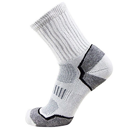 Pure Athlete Hiking Outdoor Socks – Comfortable Moisture Wicking Outdoor Hiking Socks