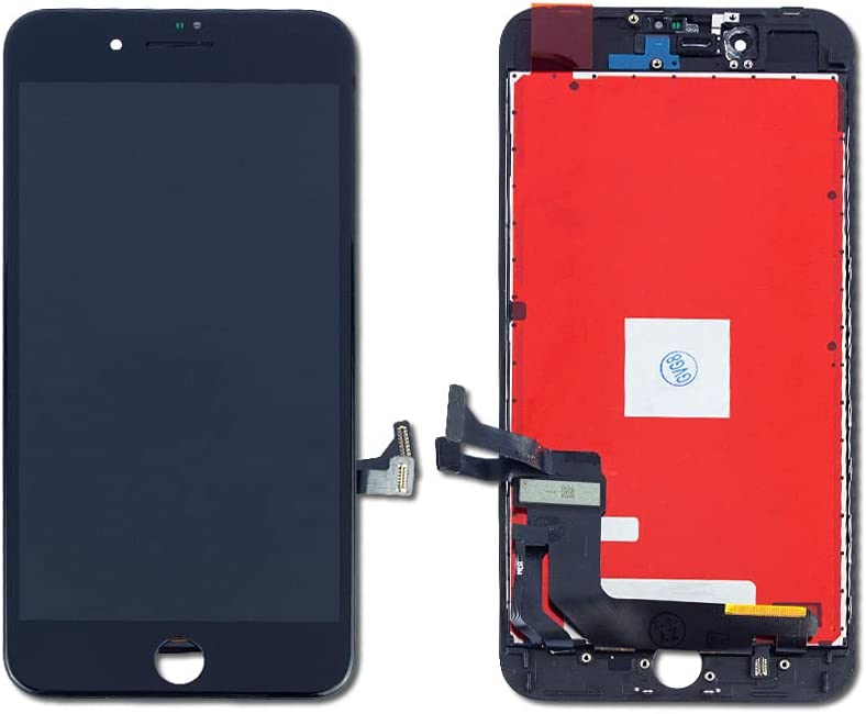 5 Limited price sale Pack Fort Worth Mall Touch Screen Digitizer LCD for iPhone - Plus Apple 8 Bl