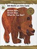 Brown Bear, Brown Bear, What Do You See? 50th Anniversary Edition with audio CD - Henry Holt & Company - 06/09/2016