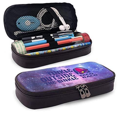 XCNGG Estuche de lápices Taco BACO con cremallera Universal, bolsa de alta capacidad para pintor, dibujo, pintura, caja para niños, organizador de papelería, cosmético