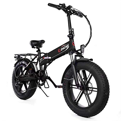 ENGWE EP-2 Versione aggiornata Bici elettrica Pieghevole Pieghevole da 500 W con Batteria agli ioni di Litio da 48 V 12,5 Ah