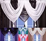 John Aird Voile Swag With Tassel...