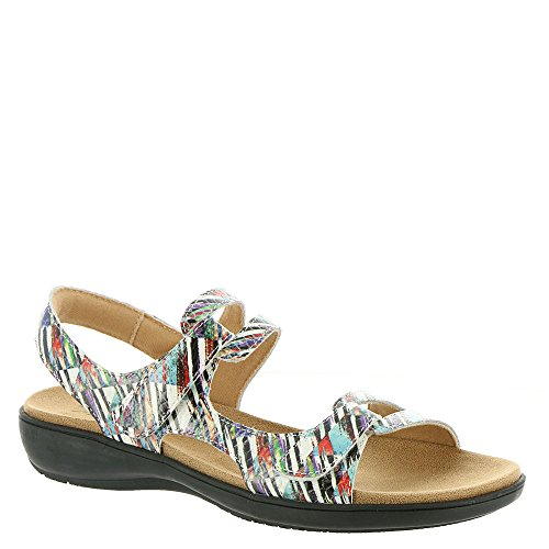 Trotters Womens Katarina 3 Open Toe Casual Ankle Strap, Multicolor, Size 11.0