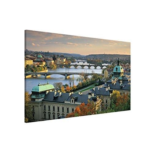 Bilderwelten Magnettafel - Prag - Memoboard Quer, Größe: 40cm x 60cm