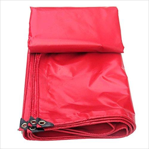 Yxsd Rouge Célébration Bâche PVC Bâche Festive Canopy Tissu Étanche Solaire Toile de Pluie Tissu Ombre Tissu (Size : 2m × 3m)