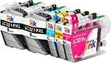 Starink LC3219XL - Cartuchos de tinta compatibles con Brother LC3219 XL para Brother MFC-J6530DW MFC-J5330DW MFC-J6930DW MFC-J5335DW MFC-J5730DW J5930DW J6935DW (2 , 1 cian, 1 magenta, 1 amarillo)