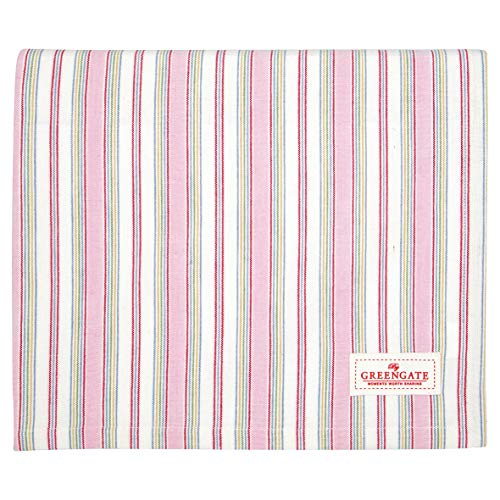 GreenGate Tischdecke Imke Pale pink 170 x 130
